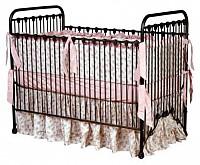 Classic Iron Vintage Baby Crib