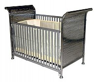 Iron Sleigh Vintage Baby Crib