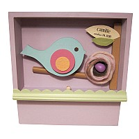 Bert the Bird Keepsake Shadow Box