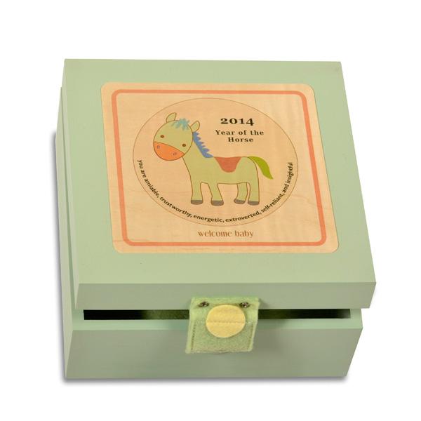 My Birth Year Keepsake Box