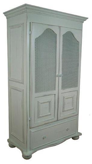 Artifakts Armoire w/ 1 Internal Drawer, 1 Adjustable Shelf, and Hanging Rod