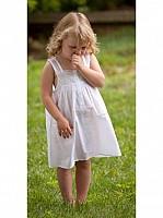 Capistrano White Cotton & Lace Dress