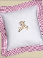 Capistrano Cotton Percale Baby Pillow Cover
