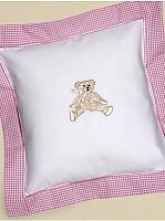 Capistrano Cotton Percale Baby Pillow Cover