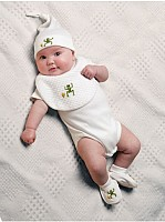 Capistrano Short Sleeve Combed Cotton Onesie