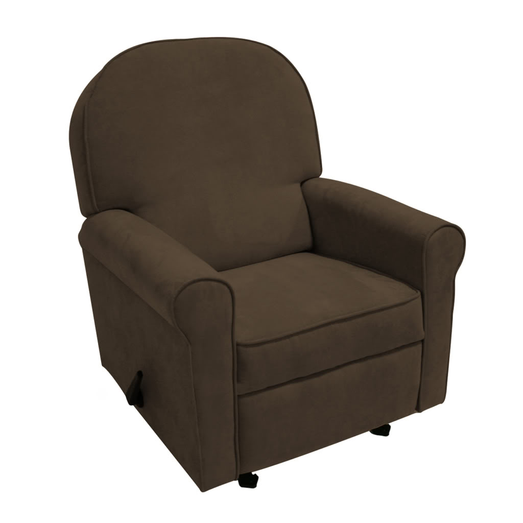 Jayden Recliner Chocolate Bella Velvet