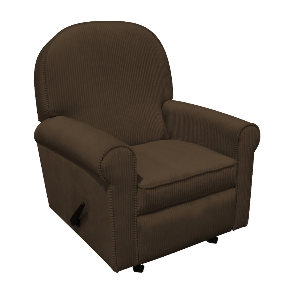 Ancientz Jayden Recliner Chocolate Chenille