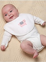Capistrano Long Sleeve Combed Cotton Onesie