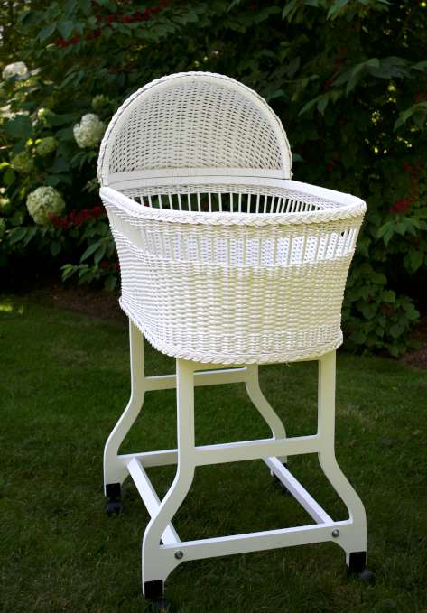 Lulla Smith Bassinet Frame | Stylish Vintage Baby